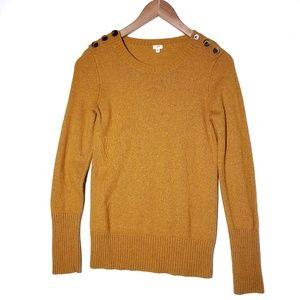 J.Crew || Wool Blend Crew Neck Sweater F106
